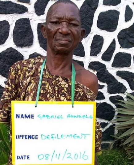 70-year-old man arrested for defiling 8-yr-old deaf and dumb girl
