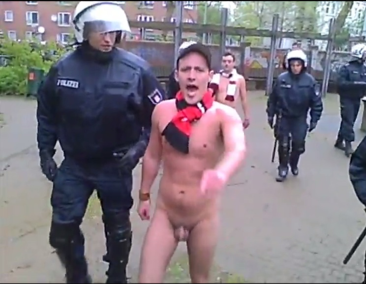naked dude arrested