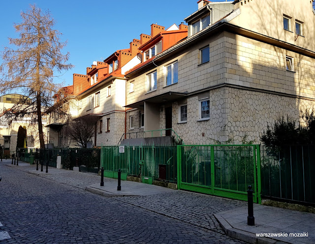 Warszawa Warsaw architektura architecture Brukalski lata 50 Nowe Miasto dom osiedle FSO willa