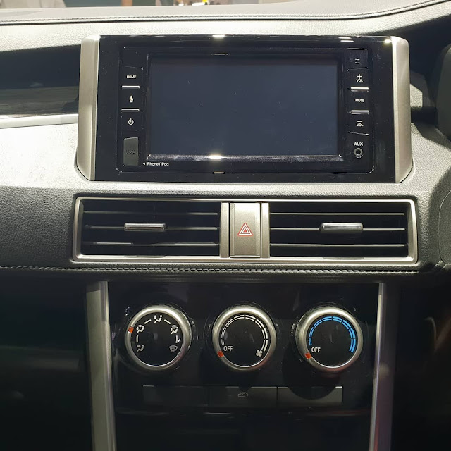 touchscreen display all new nissan livina