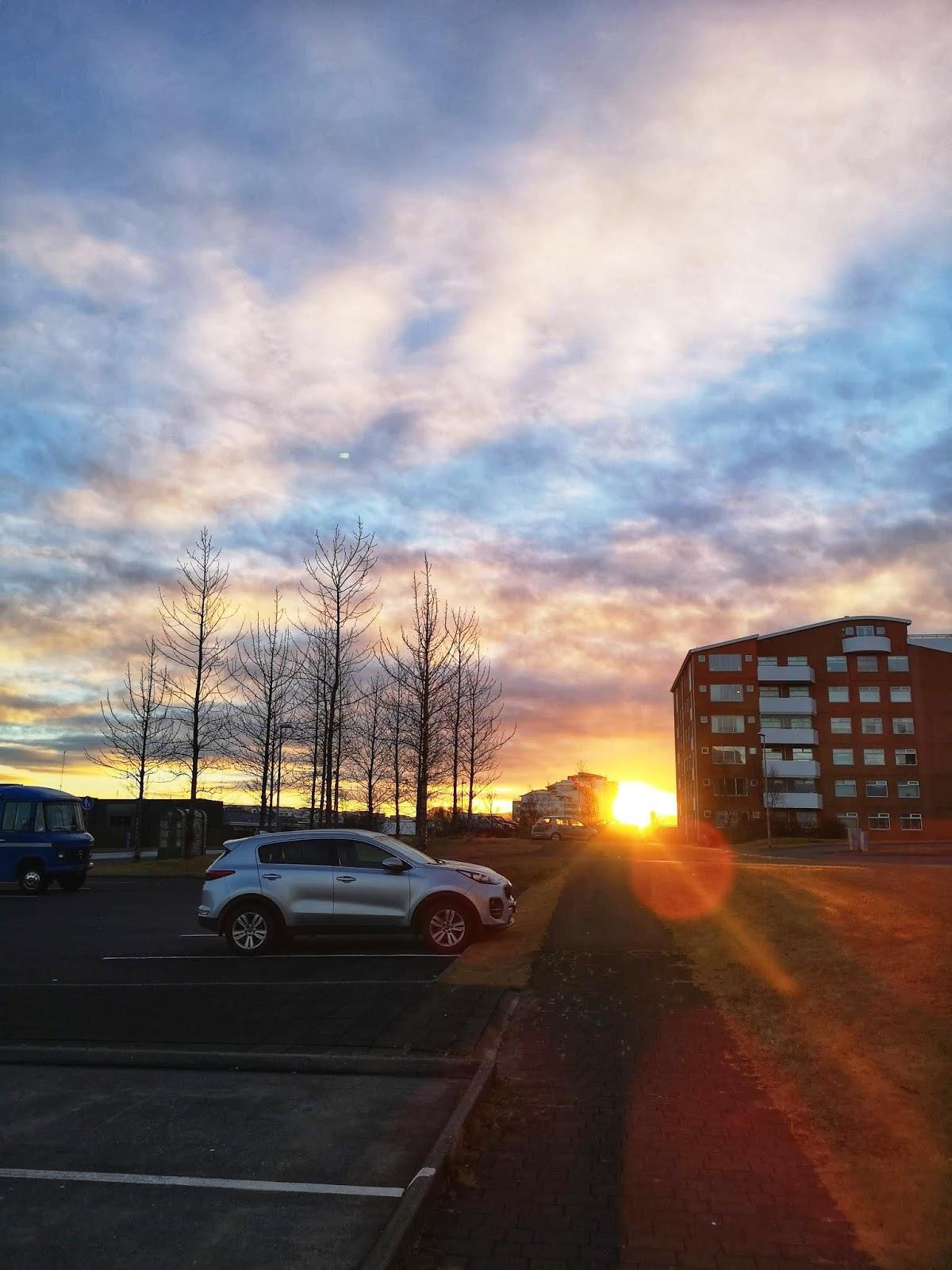 Pagi di Reykjavik
