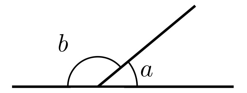 نظرية الزاويتين المتكاملتين