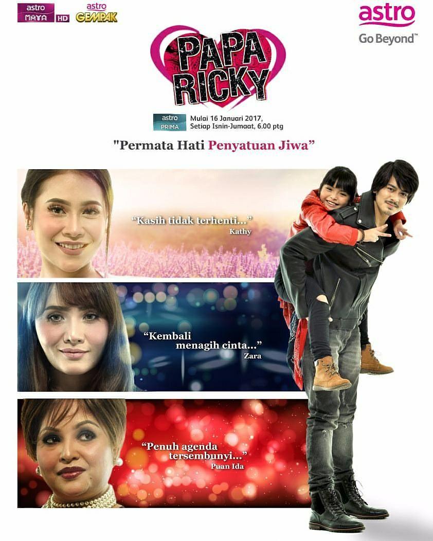 Drama Papa Ricky (Astro Prima)