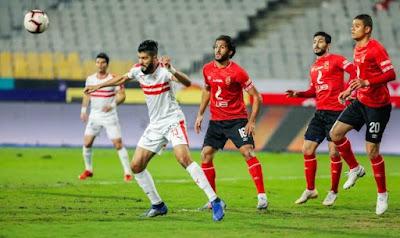 جدول ترتيب الدوري المصري قبل مباراة الزمالك ضد الأهلي