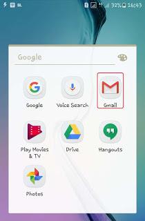 Buka Gmail Via Smartphone