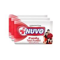 Nuvo Sabun Kesehatan Family Merah 3X110g