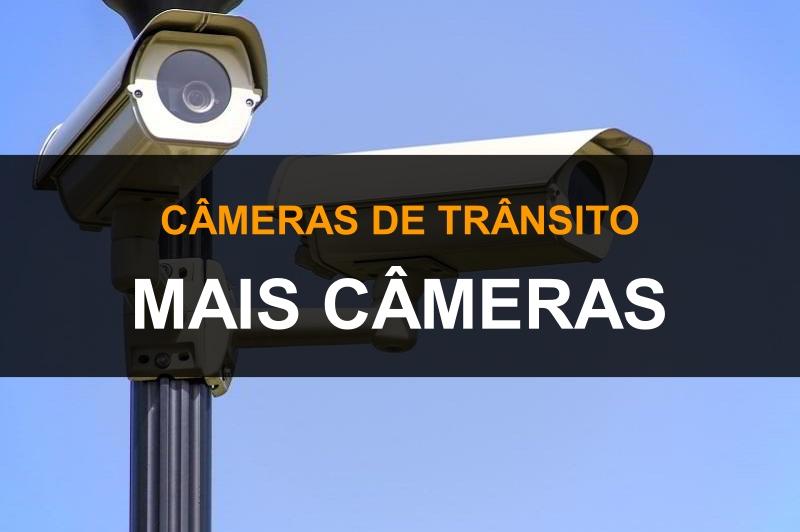 Mais câmeras de trânsito ao vivo
