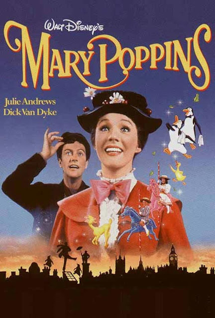 Mary Poppins Walt Disney film 1964 DVD cover animatedfilmreviews.filminspector.com