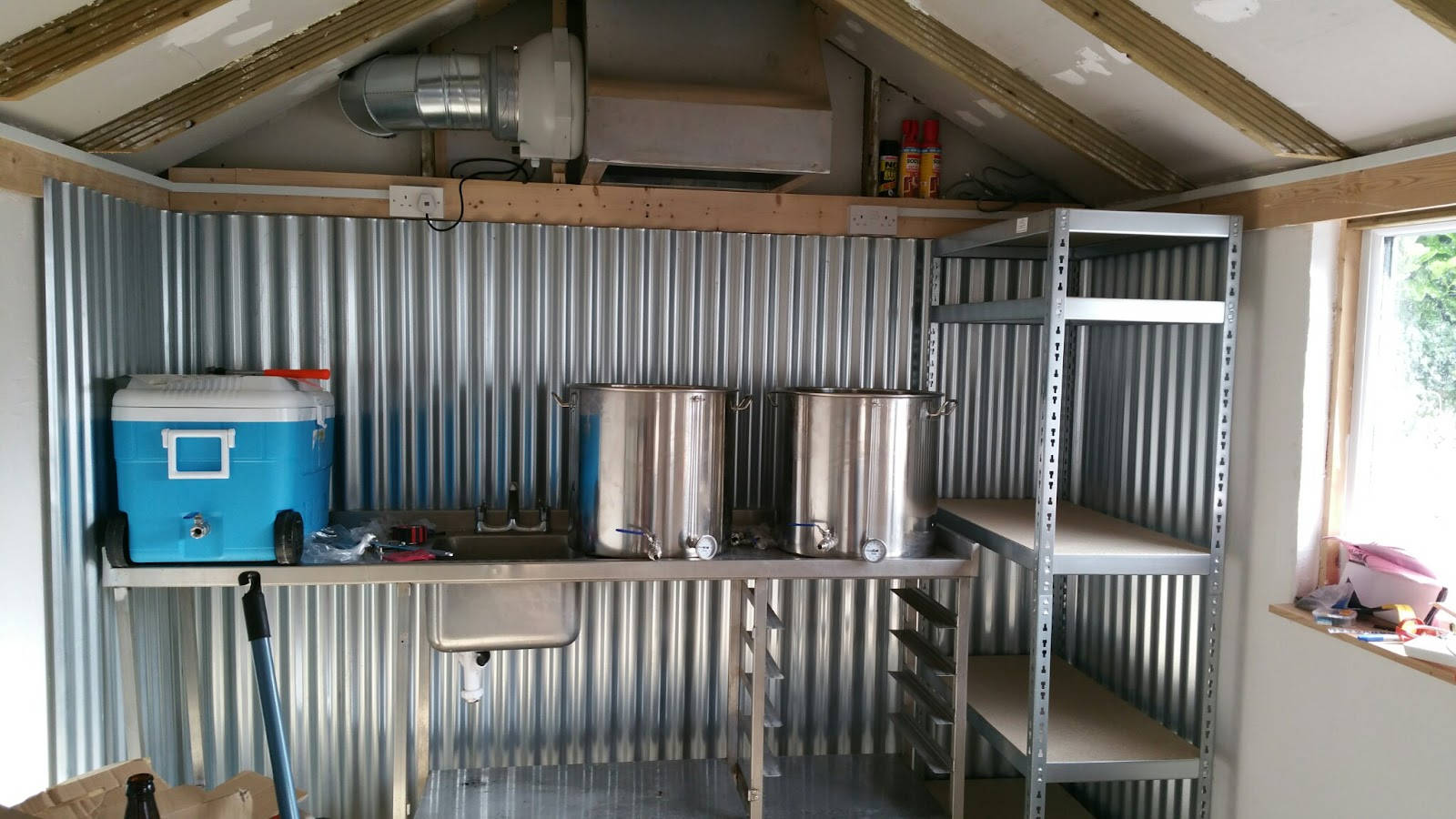 Man Cave Fort Nelson : How goes the mancave brewery? tale of ale