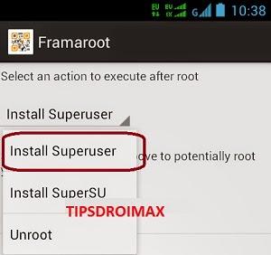 Cara Root Dan Unroot Smartfren Andromax i2 AD683J