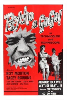 Poster for Al Adamson's PSYCHO A GO-GO!