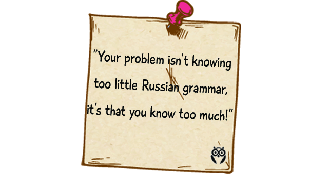 tips on dealing with Russian grammar