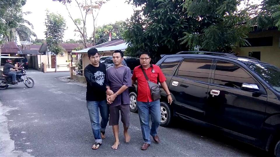 Warga Batubara Pelaku Pemerasan Diringkus di Lampung