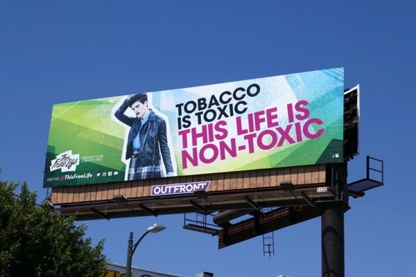 Tobacco is Toxic billboard
