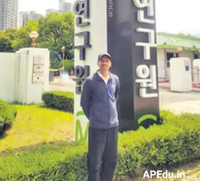 Janapaadu to South Korea .. The success story of a young man