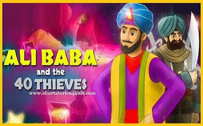 Alibaba and The 40 Thieves - Short Story for Kids