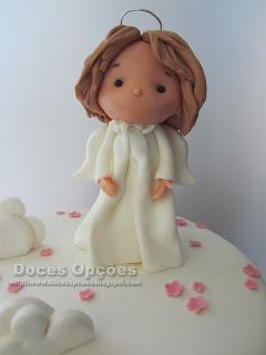 bolo anjo bragança doces opções
