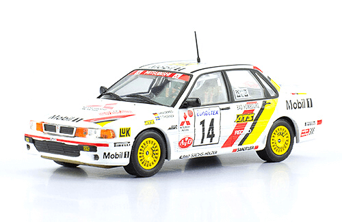 collezione rally monte carlo Mitsubishi Galant VR4 1993 I. Holderied 1:43