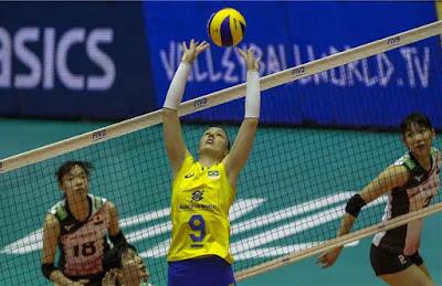 Roberta seleção brasileira vôlei feminino