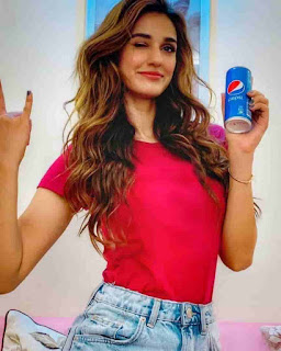 Disha Patani With Pepsi Brand