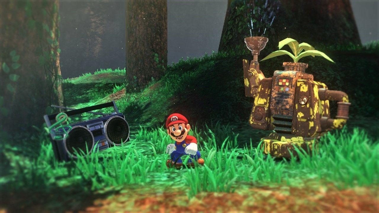 Gameplay-Super Mario-Odyssey