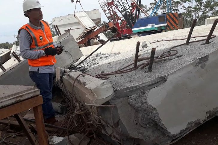 Kronologi Kecelakaan Proyek Tol Pasuruan - Probolinggo