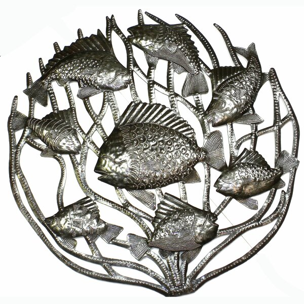 Fish in Coral Wall Decor