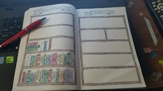 Bullet Journal - Books I've Read Layout - Katrina Roets