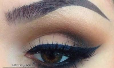 A light makeup for big eyes in 5 steps only!ماكياج خفيف للعيون الكبيرة في 5 خطوات فقط!