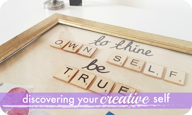 how to discover your creative self
