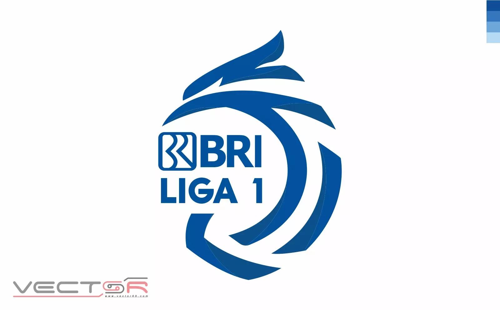 BRI Liga 1 Indonesia Logo (Color) - Download Vector File Encapsulated PostScript (.EPS)