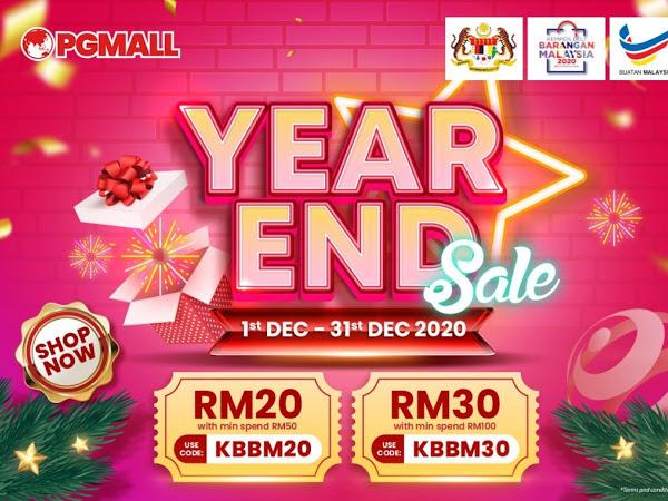 Year End Sales PG Mall : Berbaloi untuk berbelanja