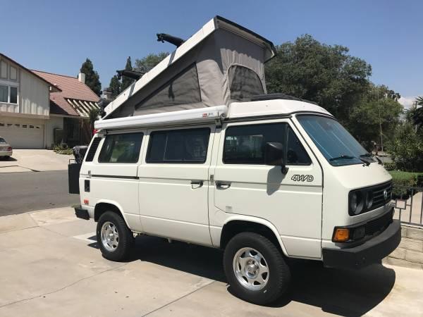1987 VW Syncro Weekender Vanagon