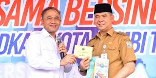 BNN RI Apresiasi Walikota Fasha Dalam Memberantas dan Mencegah Narkoba