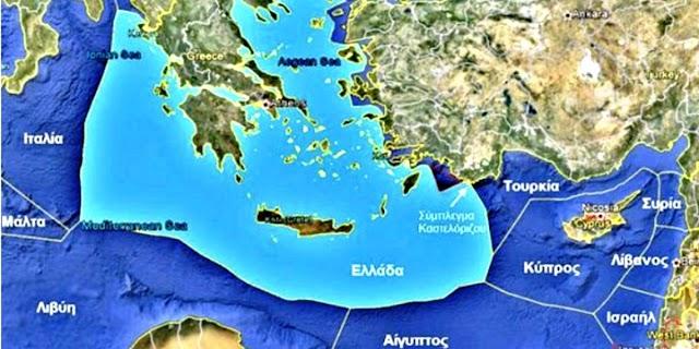 «Περίεργη» ανάρτηση από πρεσβεία των ΗΠΑ στην Τουρκία για τα θαλάσσια σύνορα Ελλάδας-Κύπρου