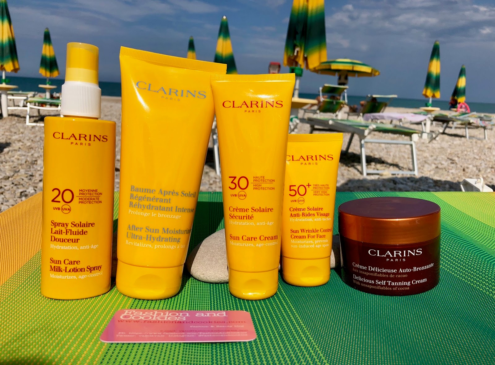 Abbronzarsi in sicurezza con i solari Clarins su Fashion and Cookies beauty blog, beauty blogger