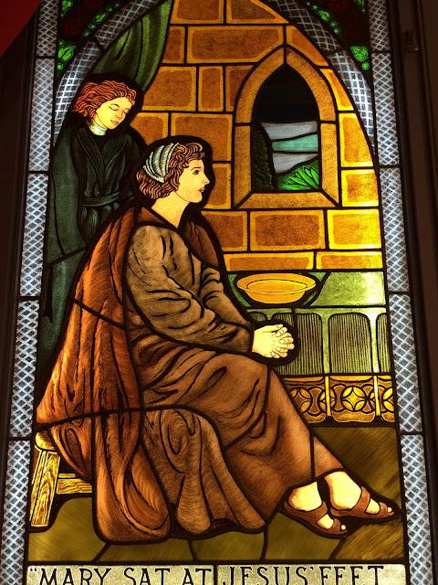 Stittsville United Church stained glass window