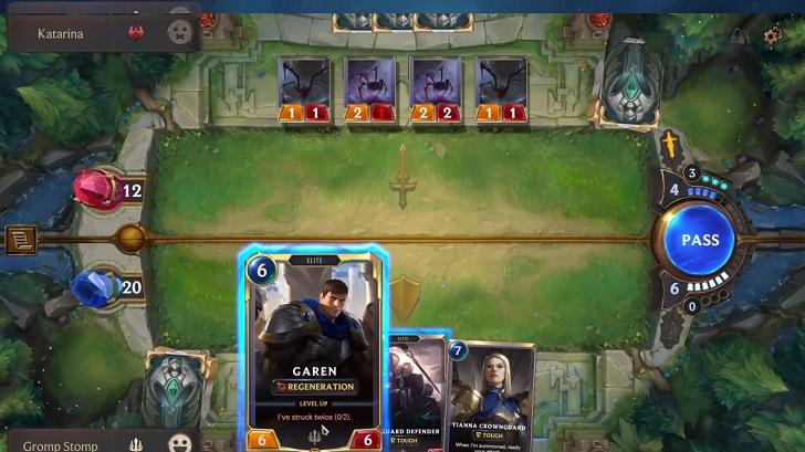 Legends of Runeterra Gameplay