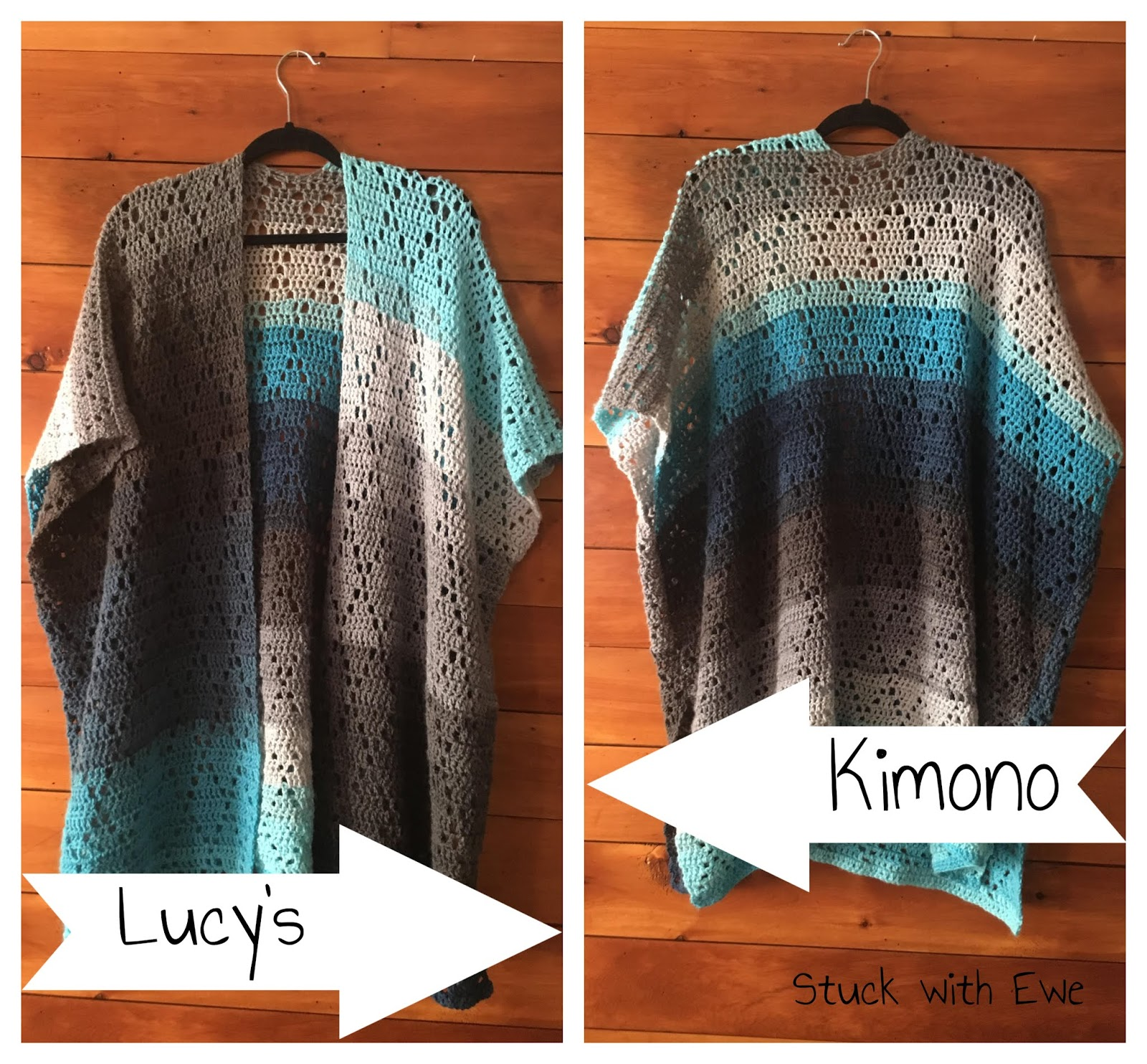 Lucys Kimono A Free Crochet Pattern