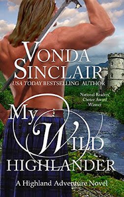 Book Review: My Wild Highlander, by Vonda Sinclair