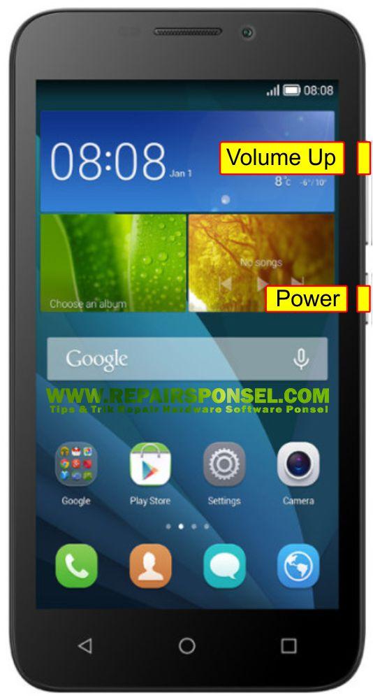 Cara Hard Reset Huawei Y336 Recovery mode - Repairs Ponsel