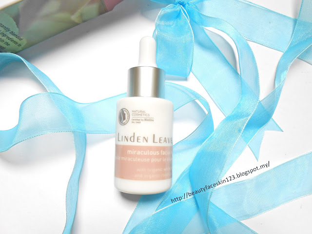 LINDEN LEAVES NATURAL SKINCARE MIRACULOUS FACIAL OIL