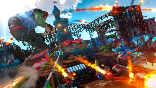 Sunset Overdrive Beta-Branch Update Addresses Mouse Sensitivity And Removes Min-Spec Check