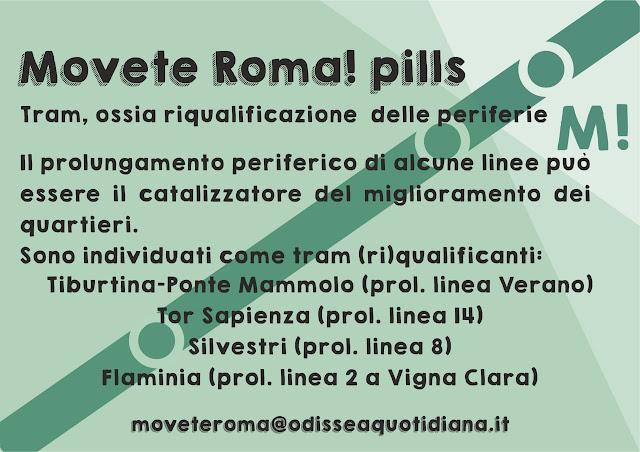 Movète Roma Pillola, numero 23: il completamento della maglia periferica