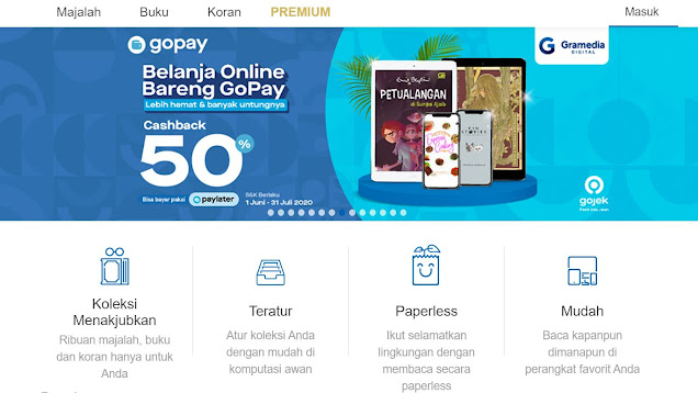 dashboard gramedia digital