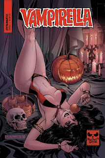 Cover to Vampirella Halloween 2018 Special #1 from Dynamite