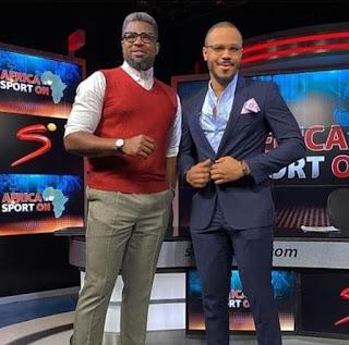 BBNaija star Ozo, makes it to sports platform, Supersport Africa (Video+Photos)