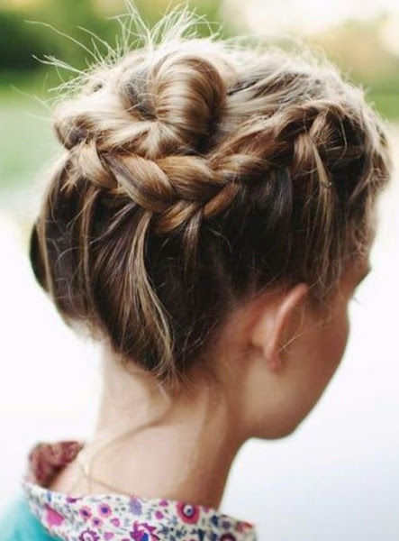 88 must see beautiful updo hairstyles variations hairstylo updo hairstyles for short hair braids updos for pmusecretfo Images
