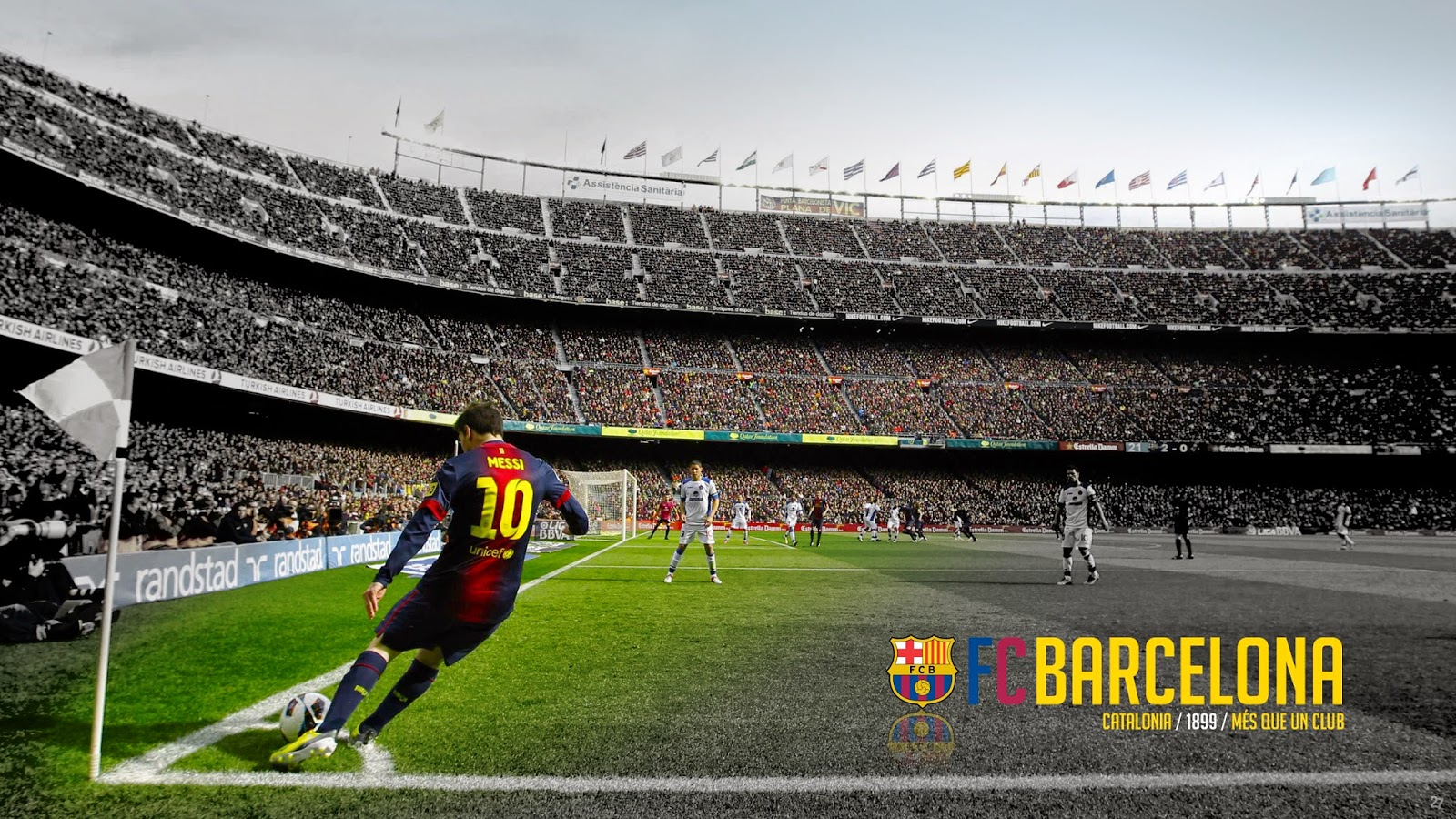 Camp nou hd wallpaper fc barcelona photo - Camp nou 4k wallpaper ...