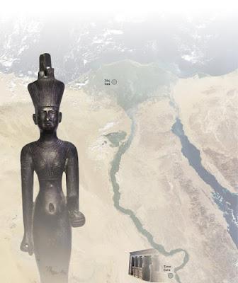 Η Νήιθ, η Αθηνά, η Παναγία, στο Εθνικό Αρχαιολογικό Μουσείο